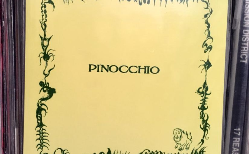 PINOCCHIO self-titled 7″ EP