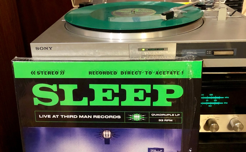 SLEEP Live at Third Man 4 x 12″ box set