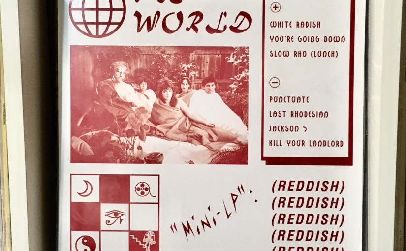 THE WORLD • Reddish mini LP