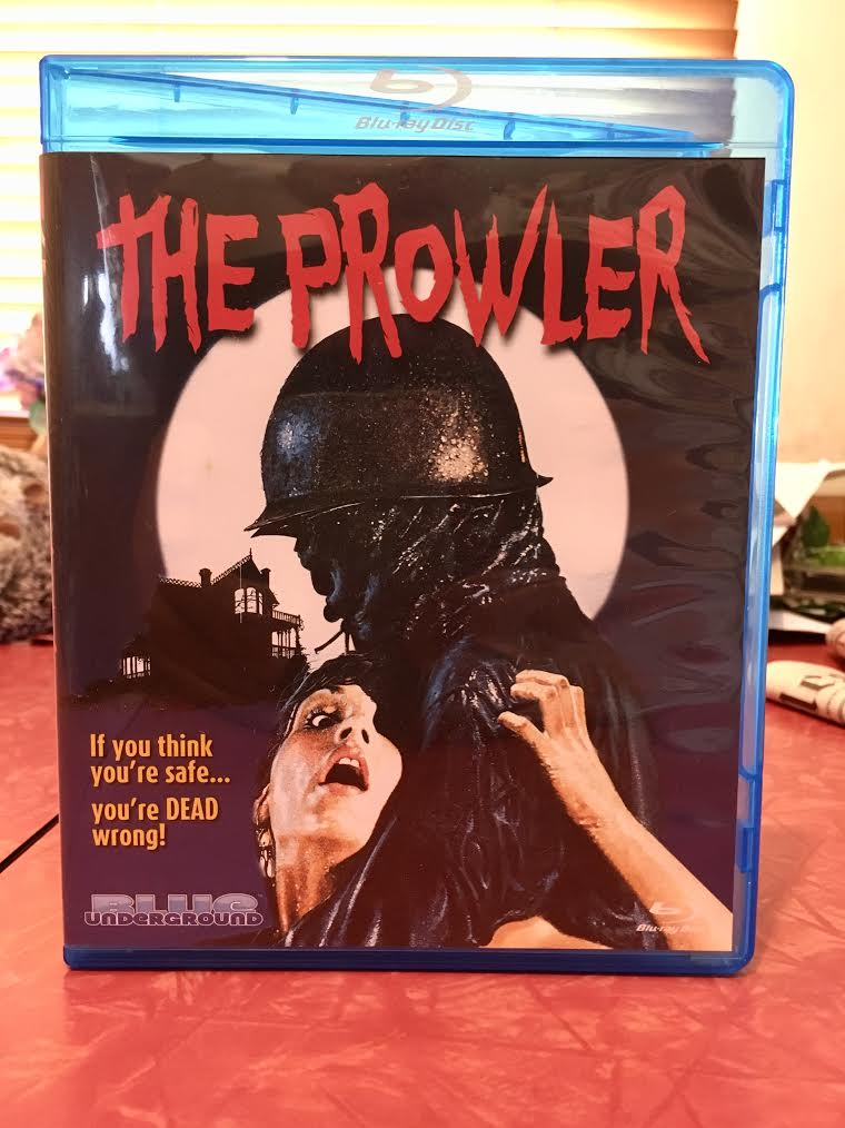 The Prowler bluray cover