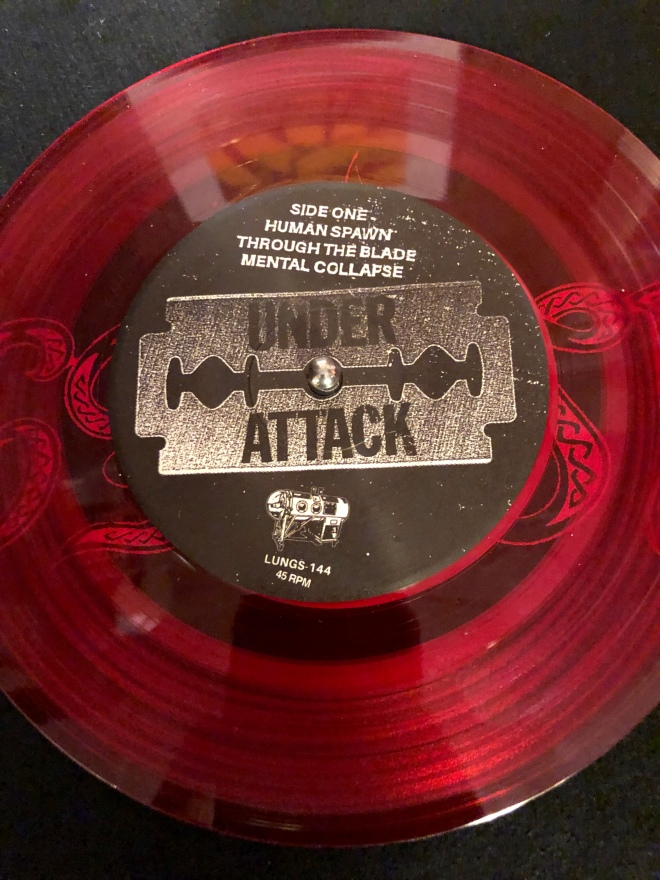 Under Attack record