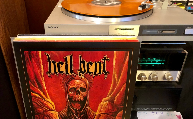 HELL BENT •Apocalyptic Lamentations LP(2019)