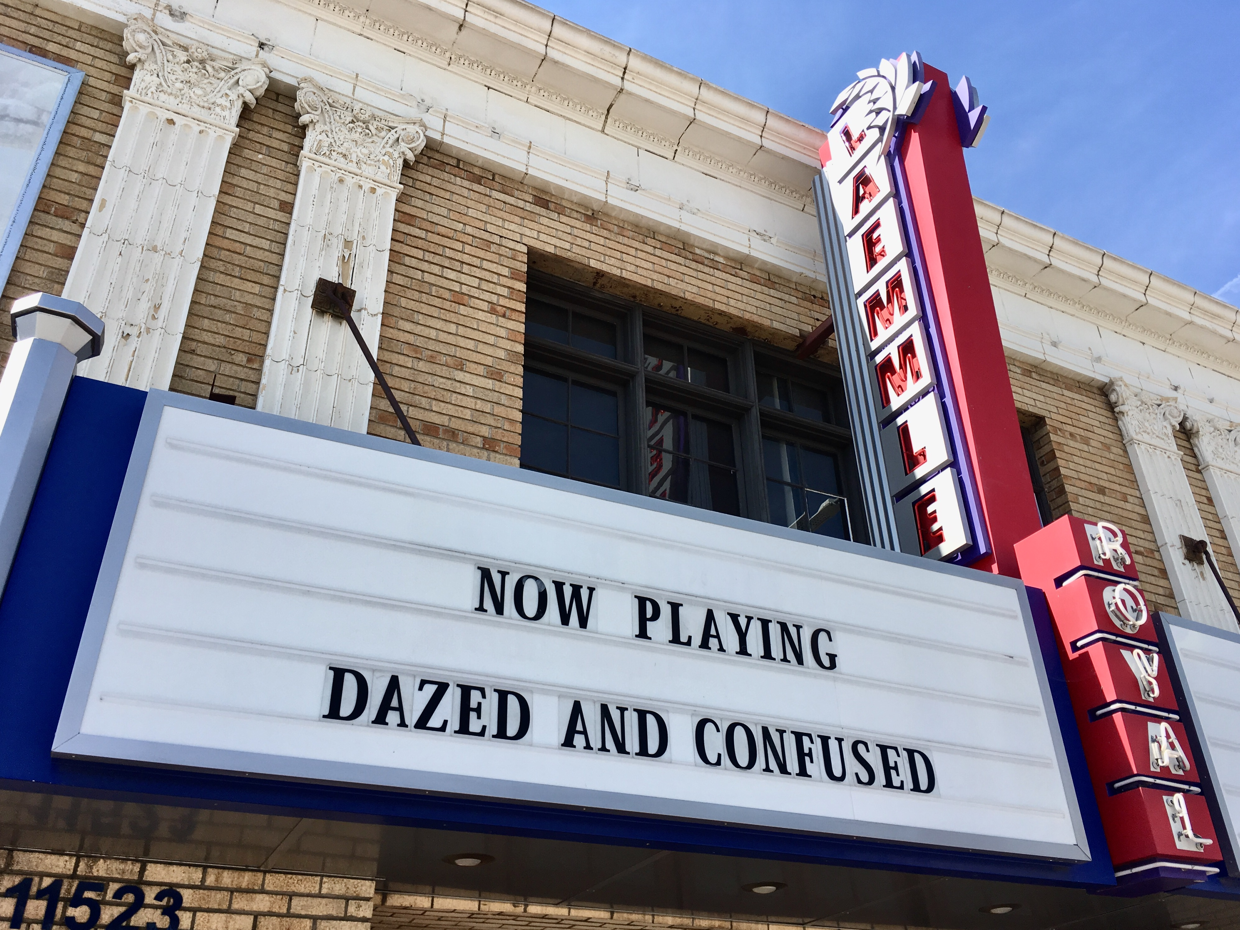 Dazed and Confused marquee