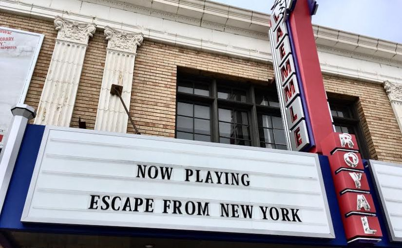 ESCAPE FROM NEW YORK (1981) / WHAT HAPPENS IN VEGAS (2008)
