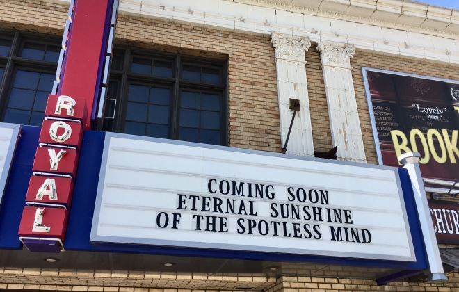 Eternal Sunshine marquee