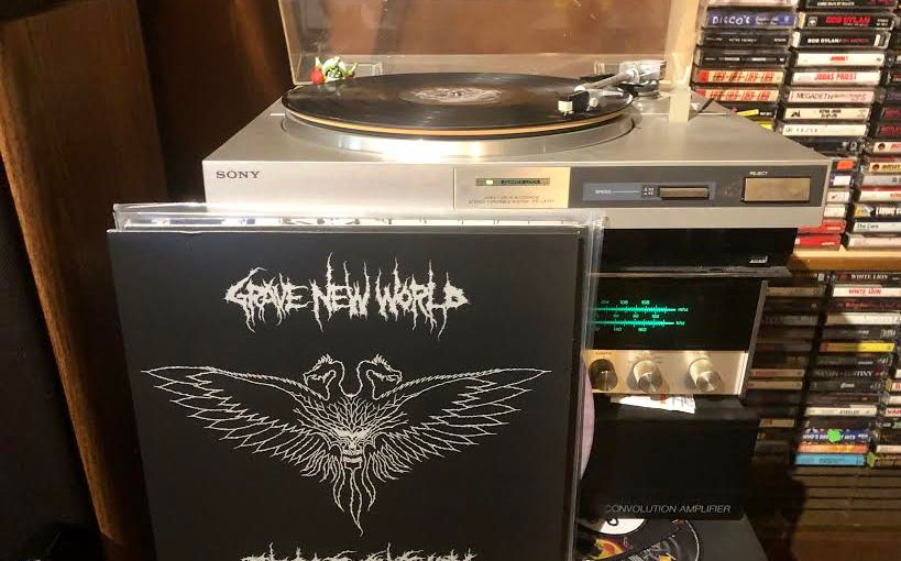 GRAVE NEW WORLD • The Last Sanctuary LP